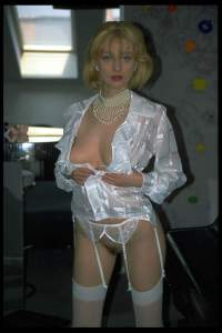 blondes Luder